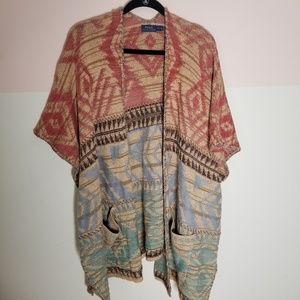 Polo Ralph Lauren Navajo sweater vest top-sz.s